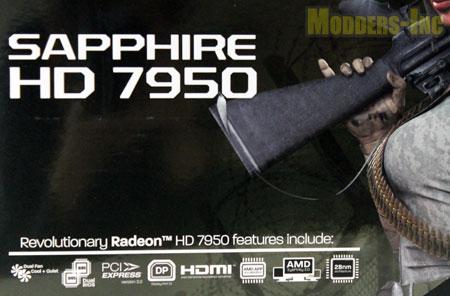 Sapphire HD 7950 OC Graphics Card Graphics Card, HD 7950 OC, Sapphire, Video Card