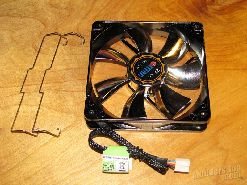 Titan Fenrir TTC-NK85TZ CPU Cooler Titan. Fenrir. TTC-NK85TZ .CPU Cooler 9