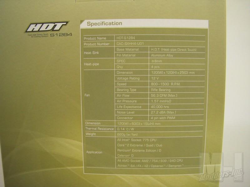 Xigmatek HDT-S1284 CPU Cooler CPU Cooler, HDT-S1284, Xigmatek 2