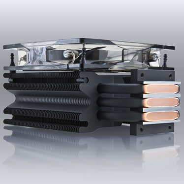 Xigmatek SD1283 Dark Knight Night Hawk Edition CPU Cooler CPU Cooler, Dark Knight Night, Hawk Edition, Xigmatek 3