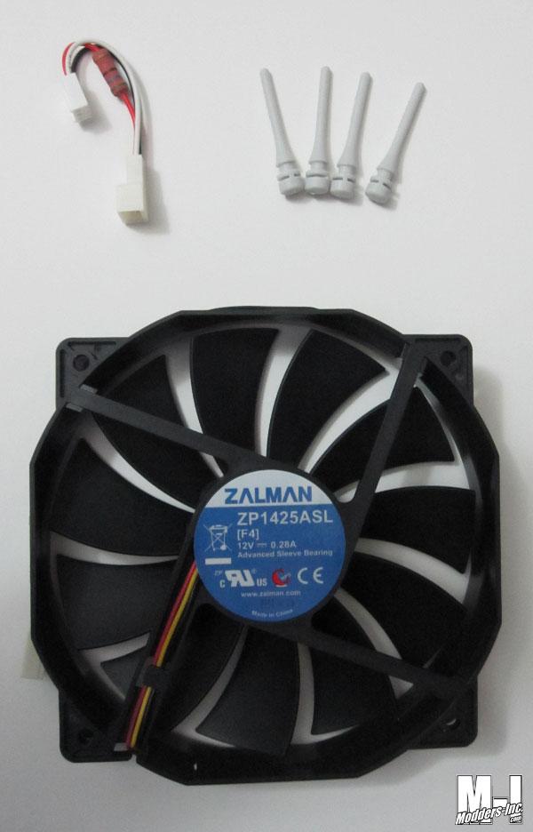 Zalman ZM-F4 135mm Fan 135mm, Fan, Zalman, ZM-F4 2