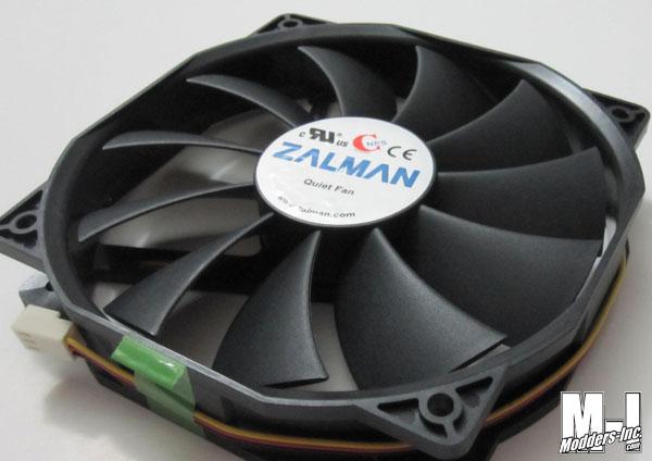 Zalman ZM-F4 135mm Fan 135mm, Fan, Zalman, ZM-F4 3