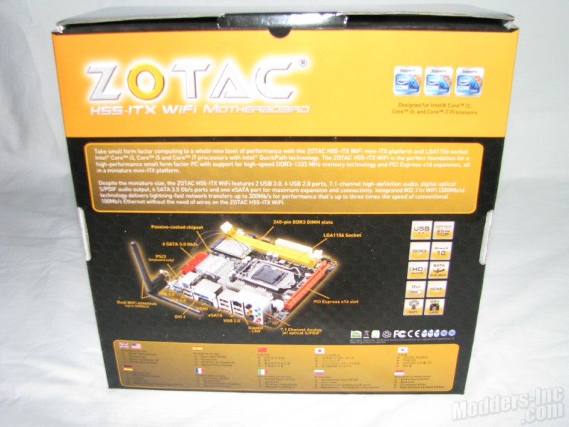 Zotac H55ITX-C-E Motherboard H55ITX-C-E, Motherboard, Zotac 3