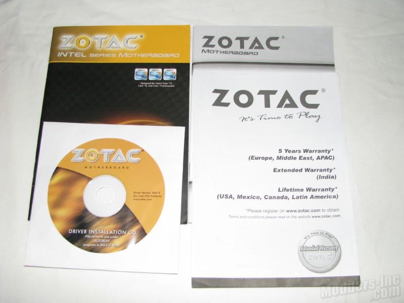 Zotac H55ITX-C-E Motherboard H55ITX-C-E, Motherboard, Zotac 6