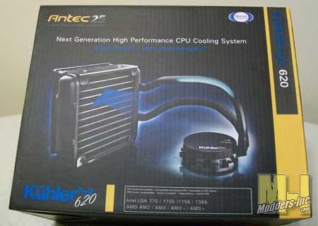 Antec Kuhler H20 620 CPU Water Cooler Antec, CPU, Kuhler H20 620, Water Cooler