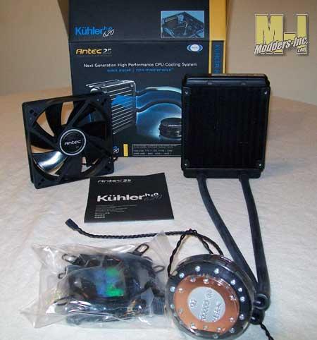 Antec Kuhler H20 620 CPU Water Cooler Antec, CPU, Kuhler H20 620, Water Cooler 1