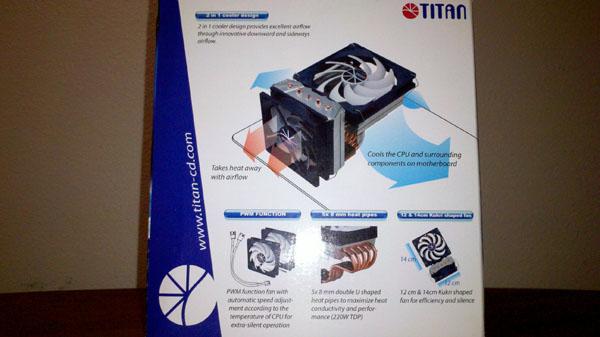 Titan Fenrir Siberia Edition CPU Cooler CPU Cooler, Fenrir, Siberia Edition, Titan 6