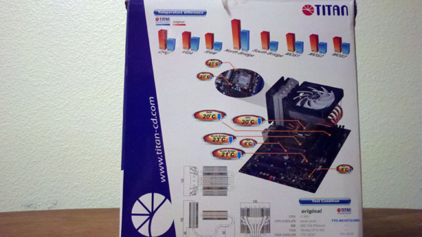 Titan Fenrir Siberia Edition CPU Cooler CPU Cooler, Fenrir, Siberia Edition, Titan 7