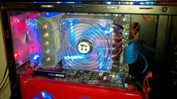 Titan Fenrir Siberia Edition CPU Cooler CPU Cooler, Fenrir, Siberia Edition, Titan 5