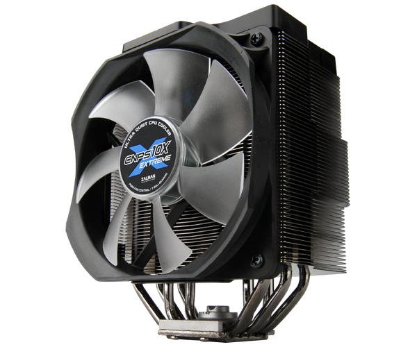 Zalman CNPS10X Extreme Heat Pipe CPU Cooler CPU Cooler, Zalman 1