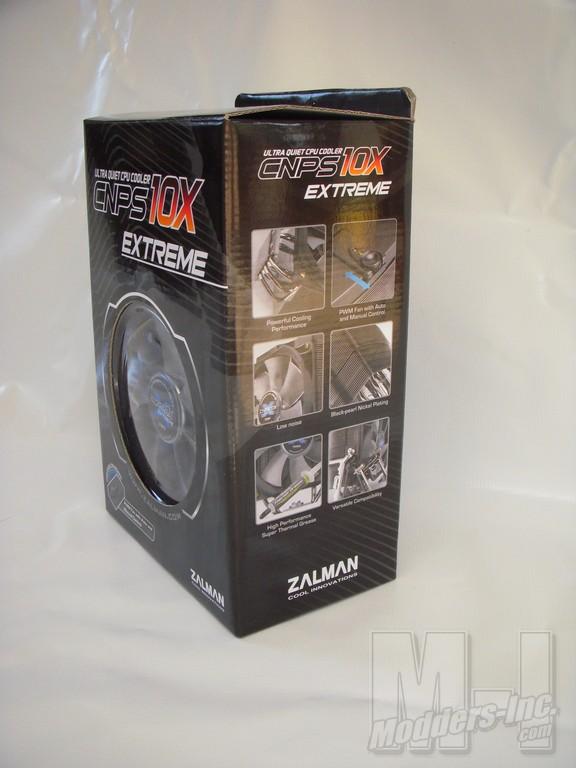 Zalman CNPS10X Extreme Heat Pipe CPU Cooler CPU Cooler, Zalman 4
