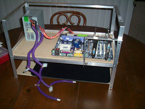 Custom Computer Hardware Test Bench By Americanfreak