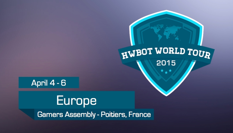 Photo of HWBOT World Tour 2015 Arrives at Gamers Assembly, France