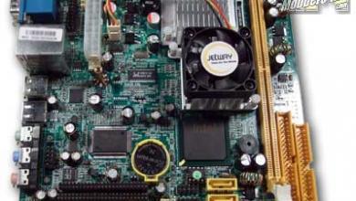 Jetway NC92 Series Mini-ITX Motherboard