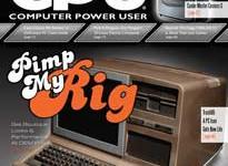 Photo of Modding Article in Computer Power User (CPU) Magazine