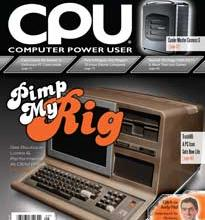 Photo of Modding Article in Computer Power User (CPU) Magazine