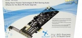 ASUS Xonar DX Dolby Home Theater Gaming Sound Card