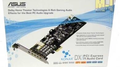 ASUS Xonar DX Sound Card