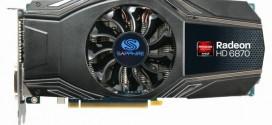 SAPPHIRE Vapor-X HD 6870 1GB GDDR5 Graphic Card
