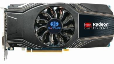 SAPPHIRE Vapor-X HD 6870 Video Card