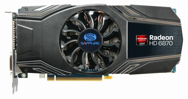 SAPPHIRE Vapor-X HD 6870 Video Card