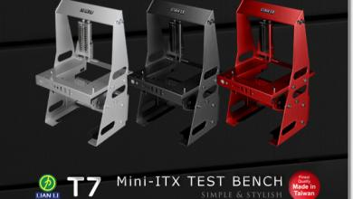 Lian Li Pitstop T7 Mini-ITX Test Bench