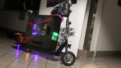 Photo of Scooter PC Case Mod by LeatherFace