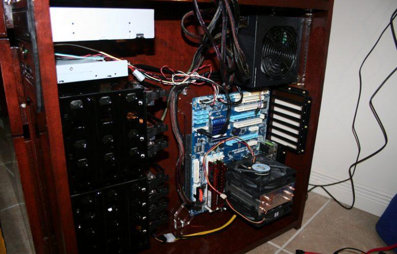 Computer Desk Case Mod