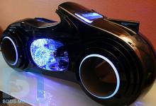 TRON Light Cycle Case Mod