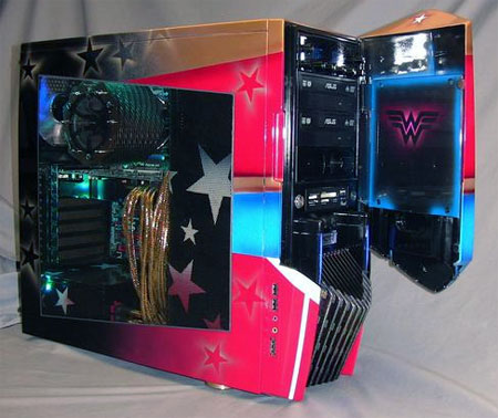 Wonder Woman Case Mod