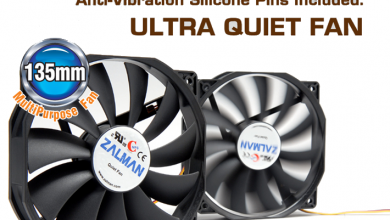 Zalman ZM-F4 135mm Fan