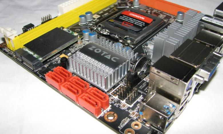 Photo of Zotac H55ITX-C-E Motherboard