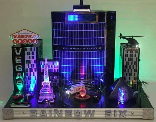 Photo of Rainbow 6 Vegas PS3 Case Mod by Butterkneter