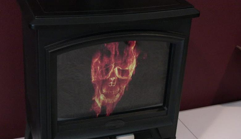 wood stove case mod