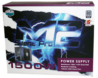 Photo of Cooler Master M2 Silent Pro 1500 Watt Power Supply Overview