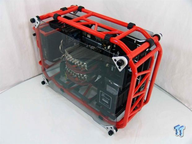 InWin D-Frame Limited Edition Open-Air Chassis Review :: TweakTown 1