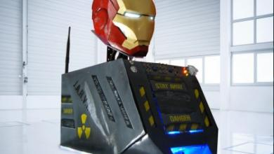 Photo of Iron Man Helmet Case Mod