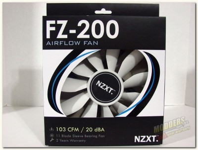 Photo of NZXT FZ-200 Airflow Fan Series 200mm fan