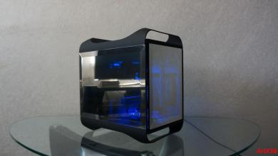 "Photo of Artx38's BitFenix Prodigy ""Mirror"" Case Mod"