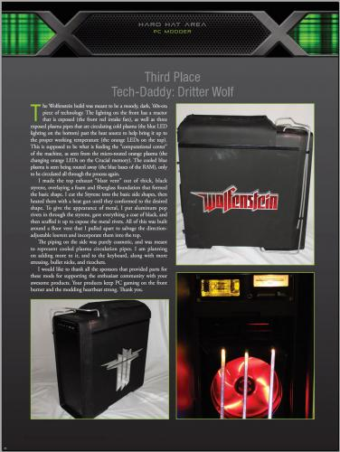CPU Mag -- 3rd Place Wolfenstein