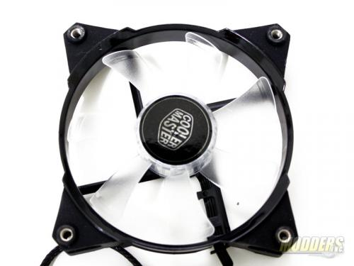 Cooler Master JetFlo 120mm LED Fan Front Shot
