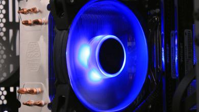 Cooler Master JetFlo 120mm Blue LED Fan