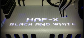 HAF X Black And White PC Mod