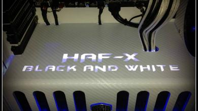Photo of Cooler Master HAF X Black And White Case Mod