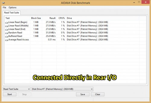 USB Direct Benchmark