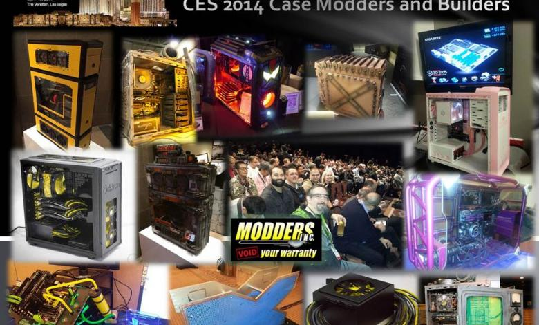 Photo of CES 2014 Case Modders and Builders of the Show