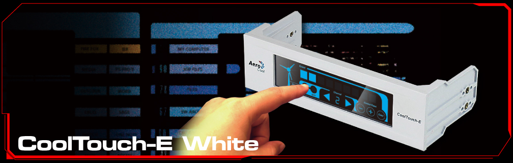Press Release: Aerocool CoolTouch-E & CoolTouch-R: Release of two touch-screen fan controller Aerocool, Fan Controller 2