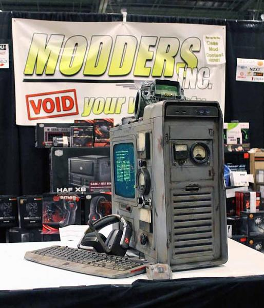 Case Mod Gallery DC Fallout 3 case mod
