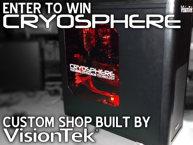 VisionTek Announces Glacially Epic Cryosphere Gaming Rig