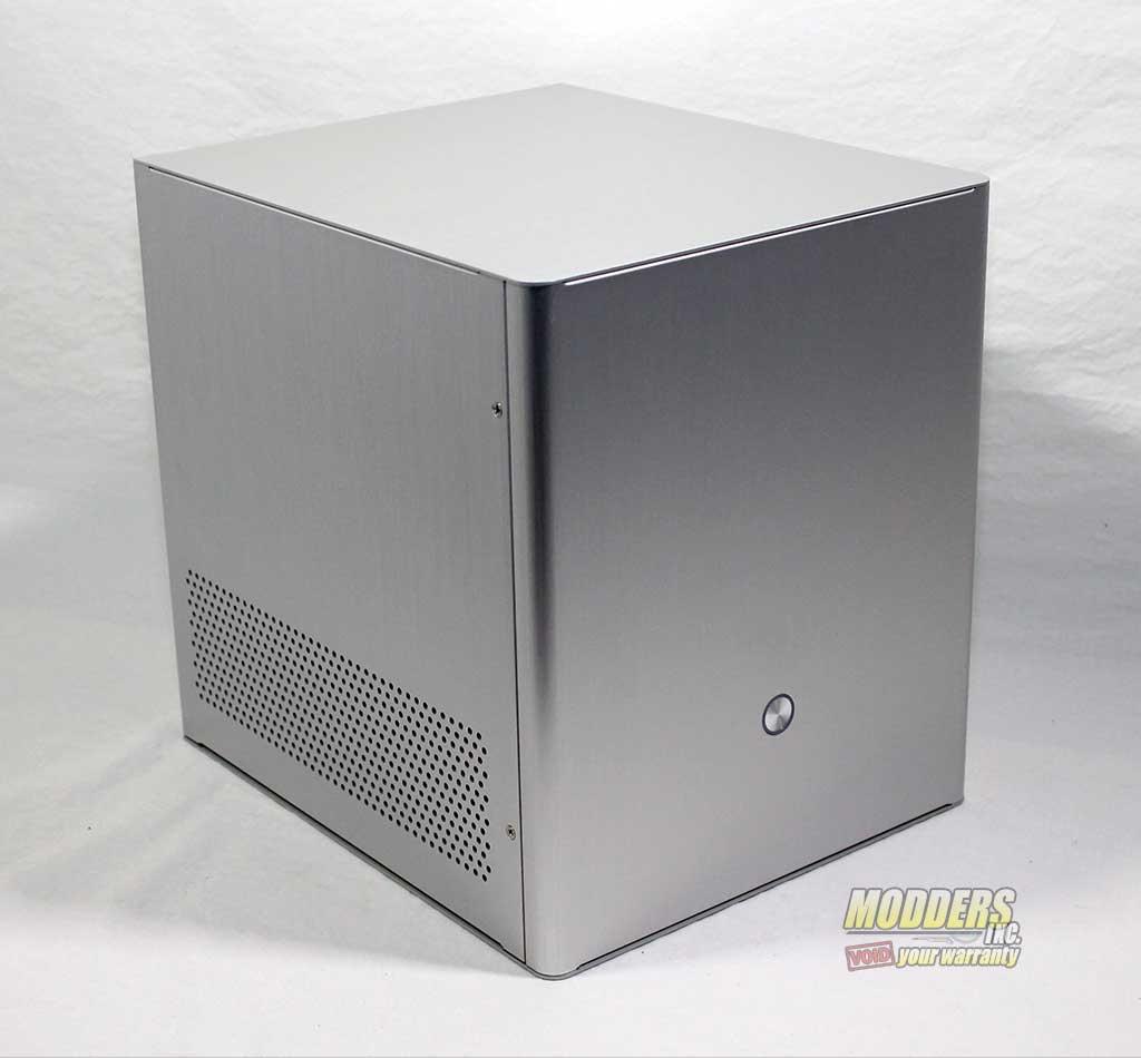 Rosewill Legacy V4-S Silver Aluminum Mini-ITX Cube Computer Case